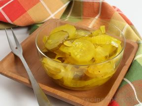 Refrigerator Bread amp Butter Pickles Recipe