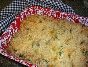 Creamy Broccoli Bake Recipe