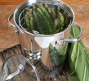 asparagus steamed Recipe