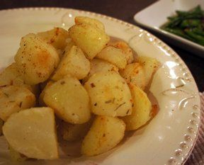 Roasted Baked Potatoes Recipe