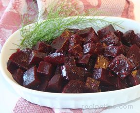 Beets with Garlic and Wine