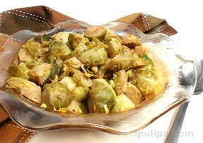 Brussels Sprouts with Toasted  Pecans Recipe