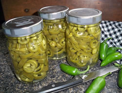 Canned Jalapenos