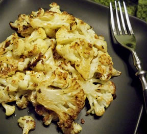 Caramelized Cauliflower Recipe