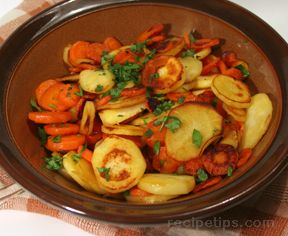 Carrot and Parsnip Coins Recipe
