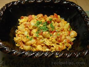 Cauliflower  Scramble Recipe