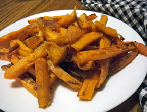 cinnamon  sugar sweet potato sticks Recipe