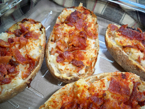 creamy stuffed baked potatoes Recipe
