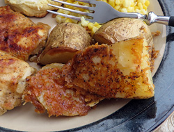 crusty parmesan roasted potatoes Recipe