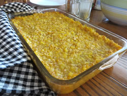 Family-Style Scalloped Corn