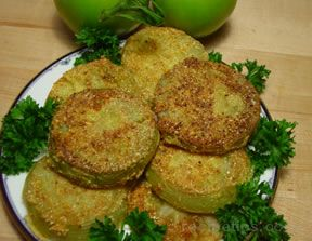 Fried Green Tomatoes - Gluten Free Recipe
