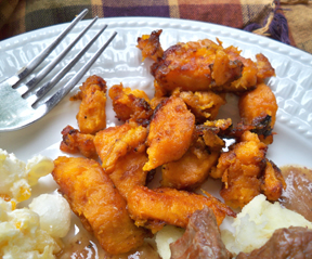 fried sweet potatoes Recipe