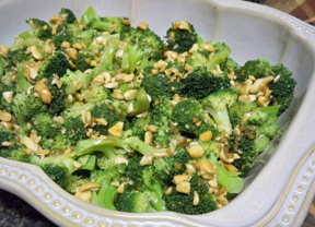 Garlic Buttered Broccoli Recipe