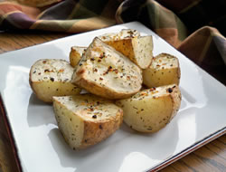 garlic oven roasted potatoes Recipe