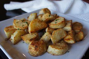 garlic roast potatoes Recipe
