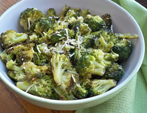 Garlic Roasted Broccoli Recipe