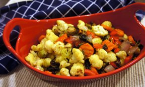 garlic roasted vegetables Recipe