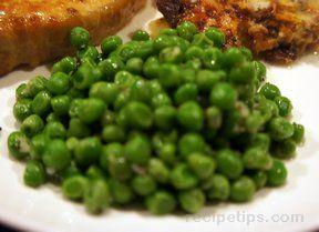 gourmet italian peas Recipe