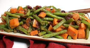 green beans with sweet potatoes Recipe