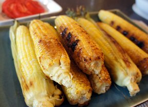 Grilled Garlic Corn on the Cob