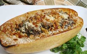 Harvest Stuffed Spaghetti Squash Recipe