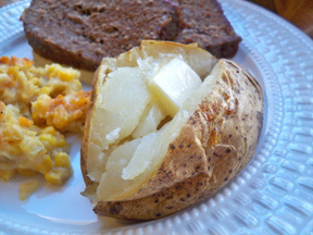 Just Baked Potatoes Recipe