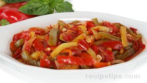 peperonata sauteed sweet peppers Recipe