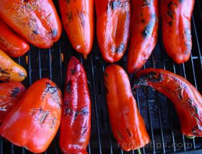 Flame-Roasted Peppers