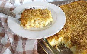 Cheesy Potato CasserolenbspRecipe