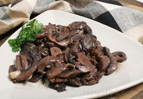 Red Wine and Rosemary Mushrooms