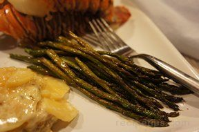simple roasted asparagus Recipe