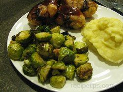 Roasted Brussel Sprouts with Bacon Recipe