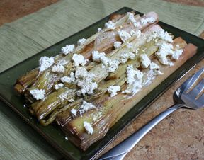 Roasted Leek and Celery