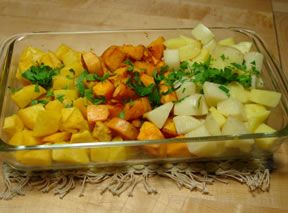 roasted roots Recipe