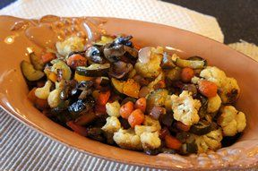 roasted vegetables 3 Recipe