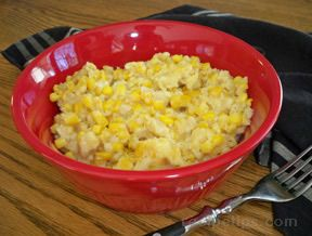 moms scalloped corn Recipe