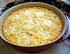 Simple Scalloped Corn