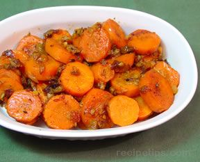 Spicy Braised Carrots