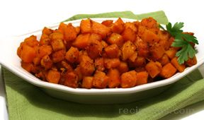 butternut squash in browned butter Recipe