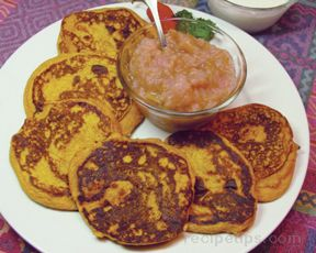 Squash Griddle Cakes Recipe