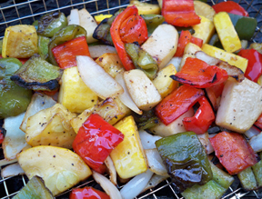 summer grilled vegetables Recipe