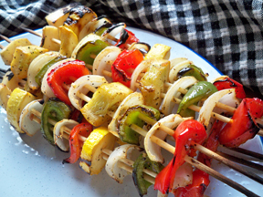 Summer Vegetable Kabobs Recipe
