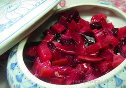 Sweet and Sour Beets Recipe