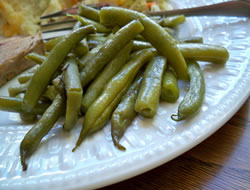 Sweetened Green Beans Recipe