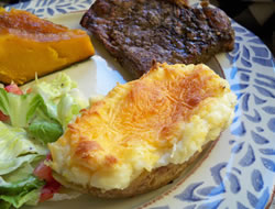 Twice Baked Ice Box Potatoes Recipe