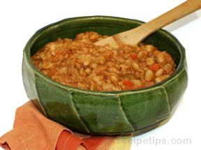 vegetarian baked beans Recipe