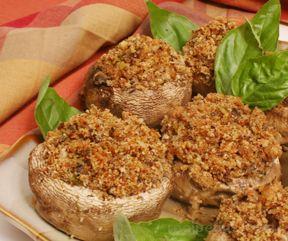 Vegetarian Stuffed Mushroom