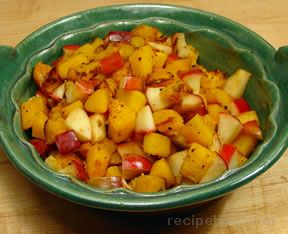 Winter Squash with Apples