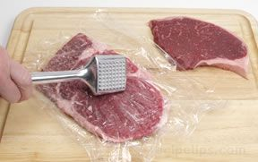 tenderizing beef Article