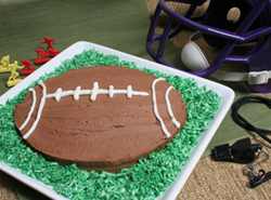 football cake Article